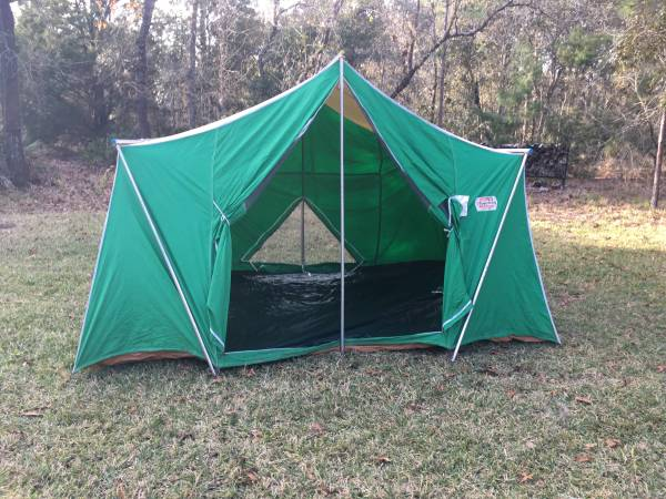 Photo Coleman Canvas Tent - $175 (Homosassa)