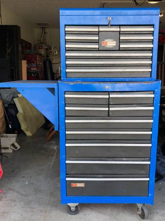 Photo Craftsman Tool Chest Loaded W Craftsman Tools - $850 (THE VILLAGES)