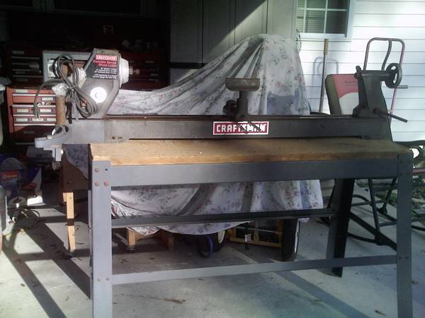 Photo Craftsman wood Lathe - $145 (Inverness Fl)