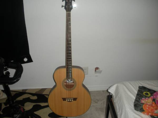 Photo Dean Acoustic Bass - $100 (CRYSTAL RIVER)