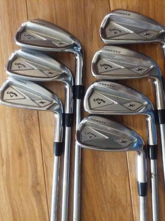 Photo Golf Clubs - Callaway X Forged Irons Set - $150 (Williston)
