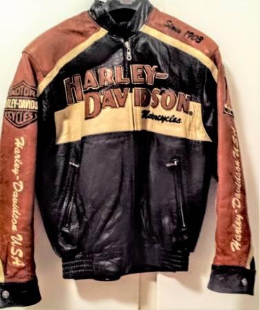 Photo Harley Davidson Leather Jacket Authentic Prestige Lambskin 97000-05V - $500 (The Villages)