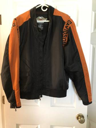Photo Harley Davidson Nylon Jacket mens large - $50