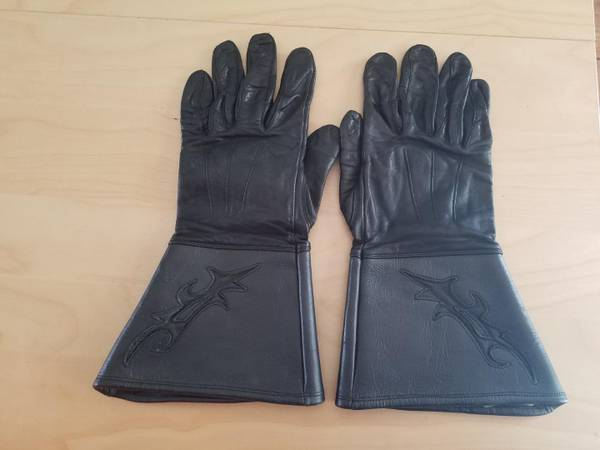 Photo Harley Davidson mens gauntlet leather gloves - $25 (Crystal River)