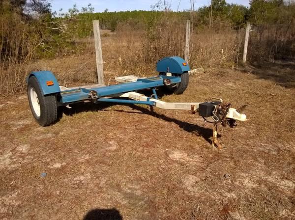 Dolly used car tow car tow