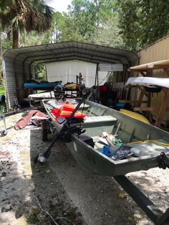 Photo Jon Boat with 9.9hp Mercury - $3,250 (Homosassa)