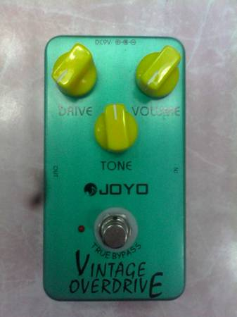 Photo Joyo Vintage Overdrive Pedal - $25 (Leesburg)