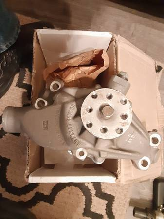 Photo New Stewart Stage 2 Aluminum SBC Water Pump - $100 (Dunnellon)
