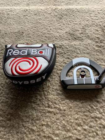 Photo ODYSSEY RED BALL PUTTER - $75 (Leesburg)