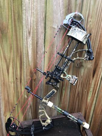 Photo PSE DECREE IC Ti 70 Compound Bow 355 fps LOADED Ready to Use Right Hand - $599 (Leesburg)
