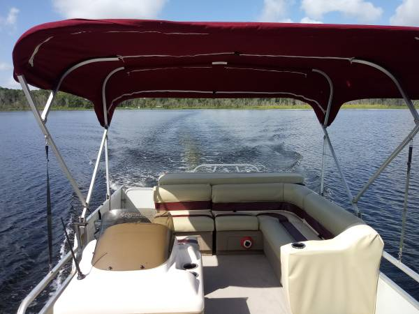 Photo Pontoon Boat for Sale - $8,900 (Wildwood)