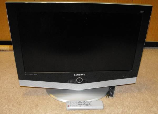 Photo Samsung LNR-268 W, PIP HDTV FS - $50 (Fellowship)