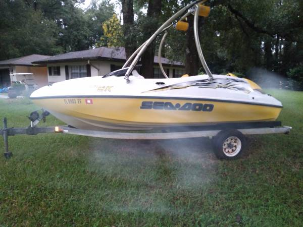 Photo Seadoo Speedster sk jet boat - $7,000 (Inverness)