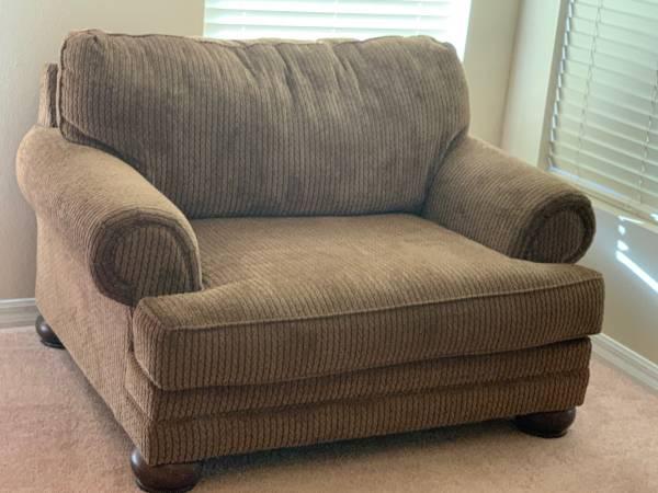 Photo Sofa, Love Seat and Ottoman - $600 (Sanford)