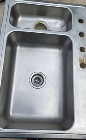 Photo Stainless steel sink - $20 (Ocala)