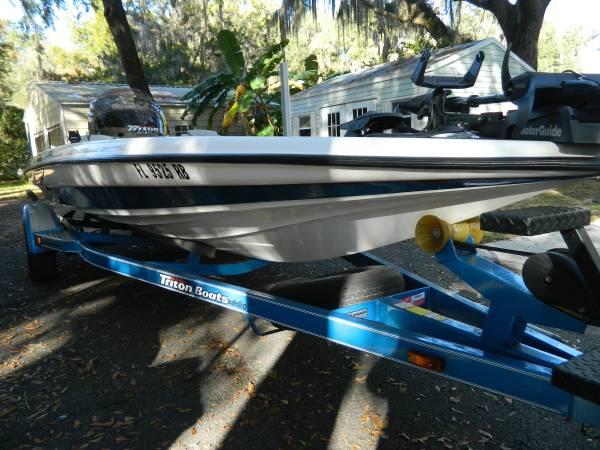 Photo Triton TR20 - $15,500 (North Central FL)