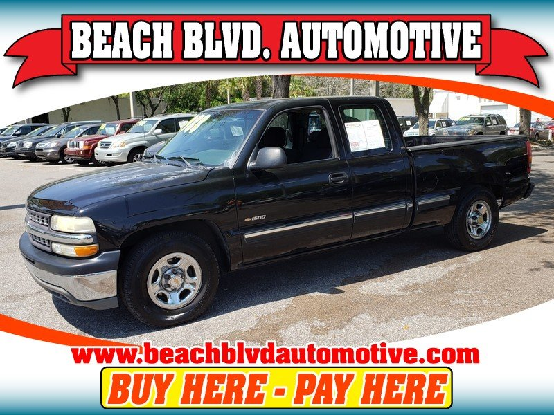 Photo Used 2002 Chevrolet Silverado 1500 2WD Extended Cab for sale