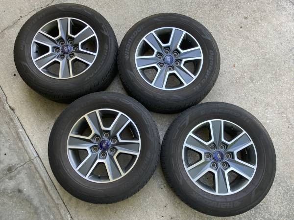 Photo WHEELS  TIRES FOR FORD F150 - $450 (Ta)
