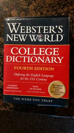 Photo Webster39s New World, Dictionary - $20 (kissimmee)