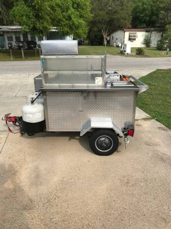 Photo hot dog cart - $2400 (Ocala)