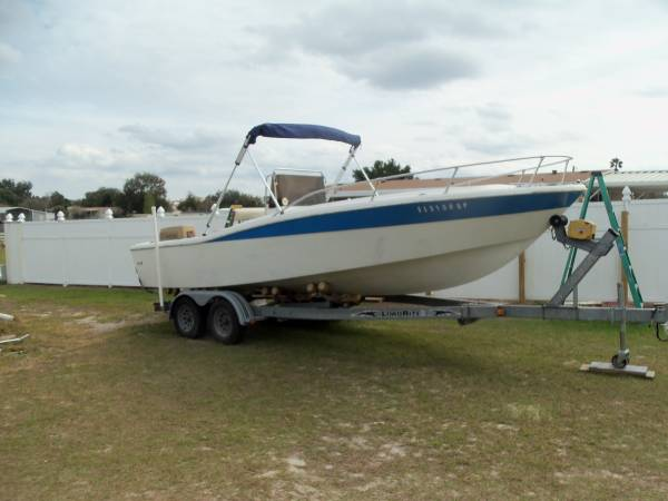 Photo north american 22 foot center console - $5950 (Lady Lake)
