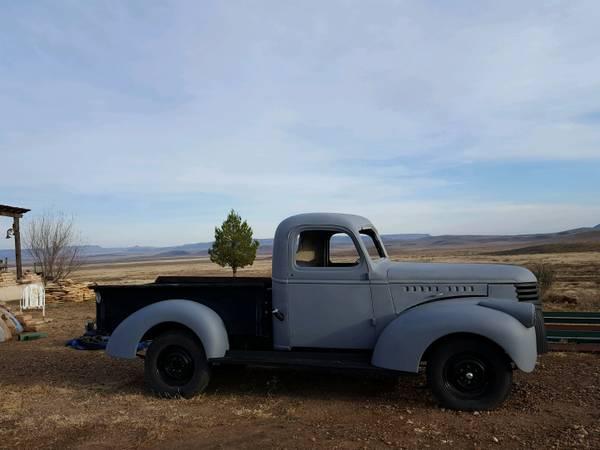 Photo 1941 Chevy pickup - $10500 (Alpine, Tx)