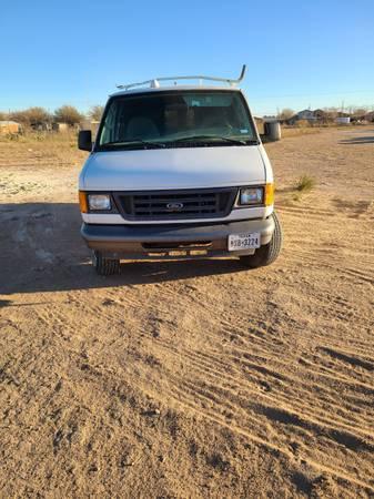 Photo 2005 Ford E250 Cargo Van - $4,500 (Midland, Odessa)