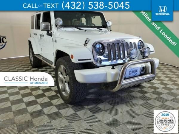 Photo 2014 Jeep Wrangler Unlimited Unlimited Sahara - $28755 (2014JeepWrangler Unlimited)