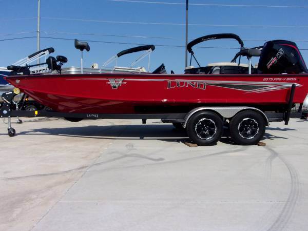 Photo 2020 Boat Clearance Sale Lund Pro V Bass Boat - $54,964 (Sanger)