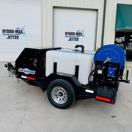 Photo HYDRO JETTER DEMO Units for SALE 4018 4000 PSI 50039 Hose Nozzles