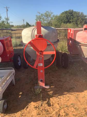 Photo Multi Quip concrete mixer - $3,800 (Midland)
