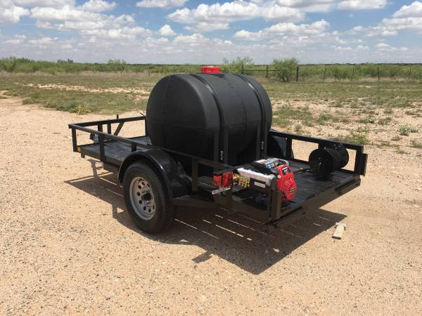 Photo New Cold Water Pressure Washer Trailer - $3300 (Big Spring)