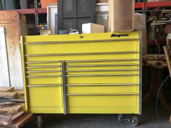 Photo SNAP ON ROLLING TOOL BOX - $2100 (ANDREWS)