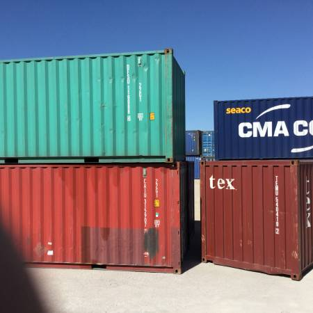 Photo Shipping Container Cargo Container Conex box SteelContainer- - $2,250 (Odessa,TX)