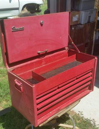 Photo Snap On Tool Chest - $475 (odessa)