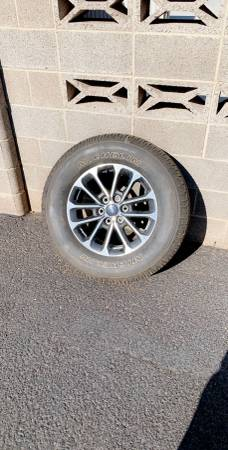 Photo Stock F150 Wheels and Tires - $1350 (Midland)
