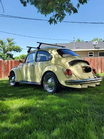 Photo 1971 Volkswagen Super Beetle Low Miles - $4,700 (RUPERT)