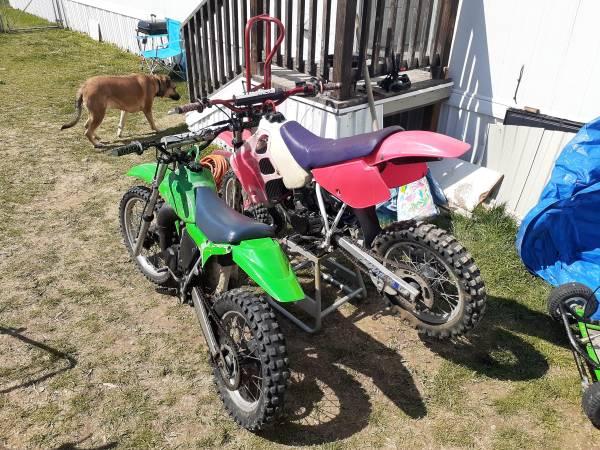 Photo 2 Pit bikes in Pocatello - only one left - $500 (Pocatello, ID)