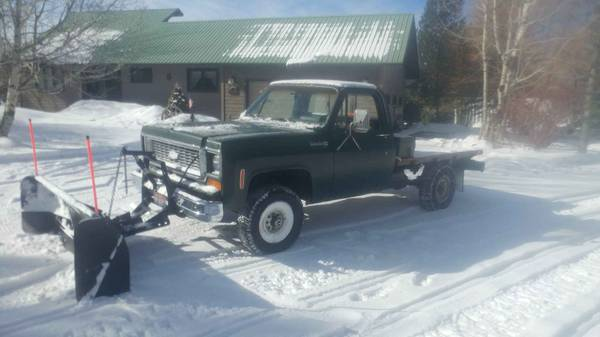 Photo 74 Chevy K20 with Snow Plow - $2,950 (VictorDriggs)