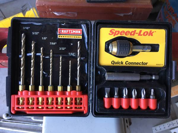 Photo Craftsman Speed-Lok drill bit set - $15 (Idaho falls)