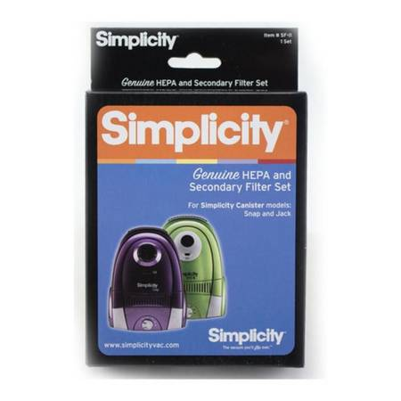Photo Simplicity Genuine HEPA and Secondary Filter Set - $29 (Layton)