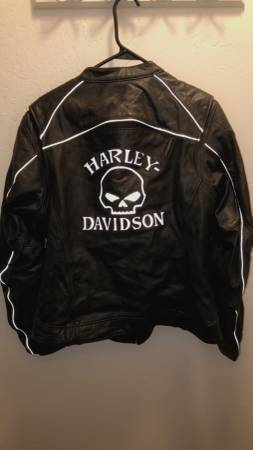 Photo Womens XL Harley Davidson Leather Jacket - $185 (Ogden)