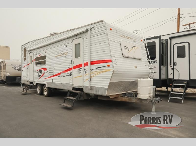 Photo Used 2006 Forest River Rv Travel Trailer Toy Hauler RV  $11995