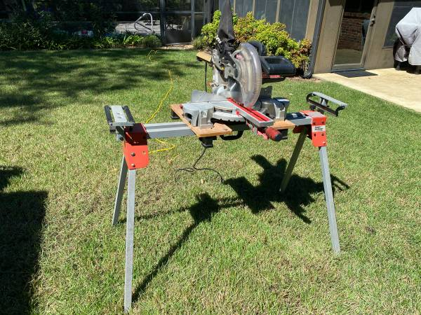 Photo 10 in Craftsman Sliding Compound Miter Saw with Black  Decker Stand - $190 (Niceville)