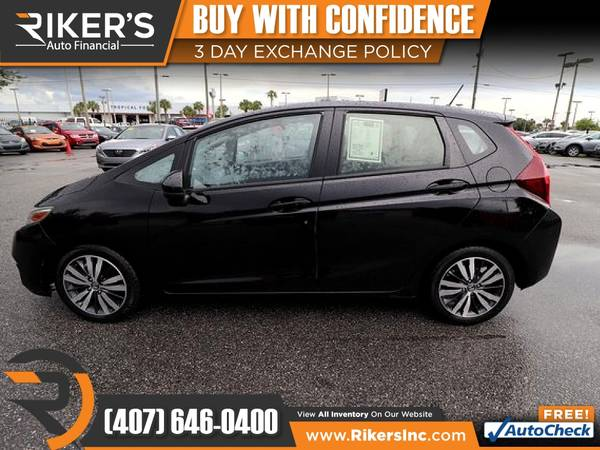 Photo $121mo - 2016 Honda Fit EX - 100 Approved - $121 (Rikers Auto Financial)