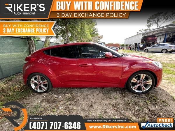 Photo $153mo - 2014 Hyundai Veloster - 100 Approved - $153 (2776 N Orange Blossom Trail, Kissimmee FL, 3474)