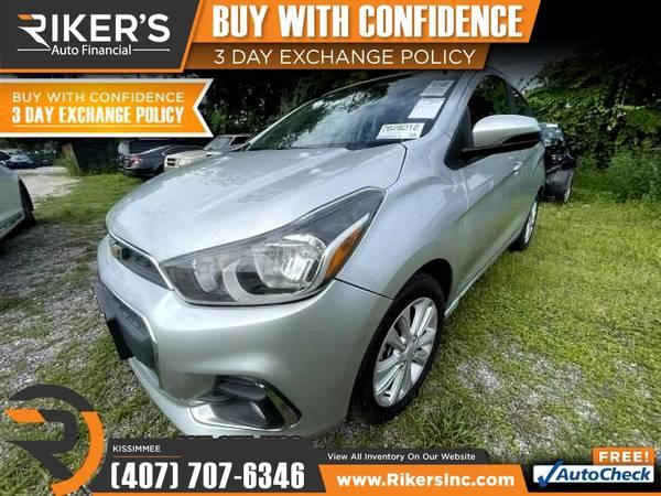 Photo $153mo - 2017 Chevrolet Spark LT - 100 Approved - $153 (2776 N Orange Blossom Trail, Kissimmee FL, 3474)