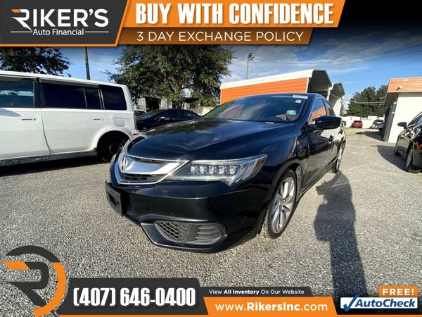 Photo $164mo - 2017 Acura ILX Base - 100 Approved - $164 (Rikers Auto Financial)