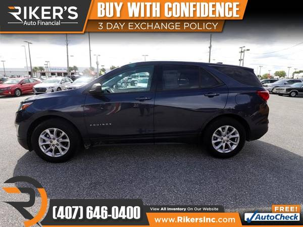 Photo $168mo - 2018 Chevrolet Equinox LS - 100 Approved - $168 (Rikers Auto Financial)