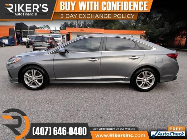 Photo $173mo - 2018 Hyundai Sonata SEL - 100 Approved - $173 (Rikers Auto Financial)